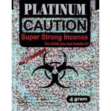 Caution Platinum Herbal Incense 4g