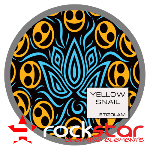 Yellow Snail - Etizolam Blotters 2mg - 4pcs